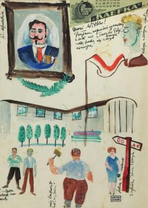 Otto AXER (1906-1983), Targi północne, l. 30. XX w.