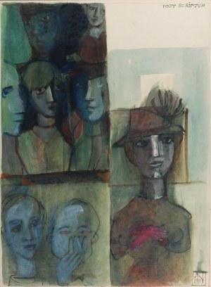 Adam NIEMCZYC (1914-2009), Post scriptum, 1995