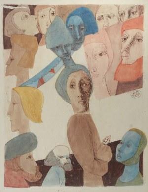 Adam NIEMCZYC (1914-2009), Feministki (feminists), 1994