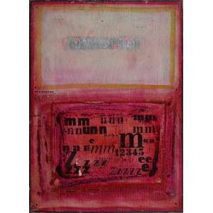 Tomasz STANDO (ur. 1953), Kompozycja /collage