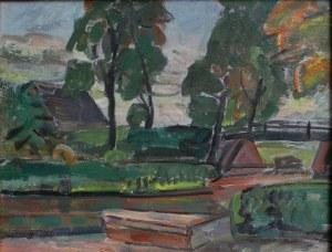 Zdzisław Przebindowski (1902-1986), Śluza Pakość