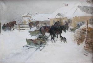 Ignacy Zygmuntowicz (1875-1947), Przed zajazdem