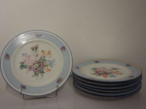 Zestaw porcelanowych talerzyków deserowych z Limoges