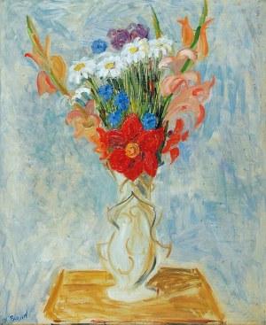 Maurycy Blond (1899-1974), Kwiaty w wazonie