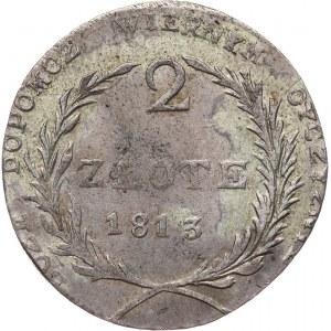 Oblężenie Zamościa, 2 złote 1813, Zamość