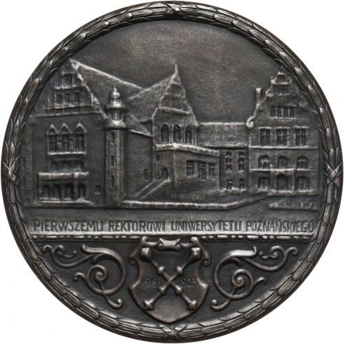 II RP, medal z 1923 roku, Heliodor Święcicki, Pierwszemu Rektorowi Uniwersytetu Poznańskiego