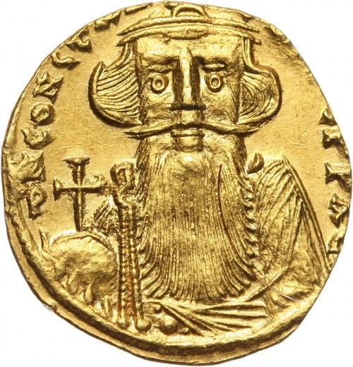 Byzantine Empire, Constans II 641-668, Solidus, Constantinople