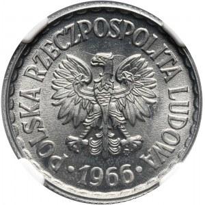 PRL, 1 złoty 1966