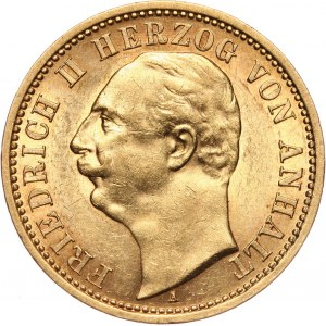 Germany, Anhalt, Friedrich II, 20 Mark 1904 A, Berlin