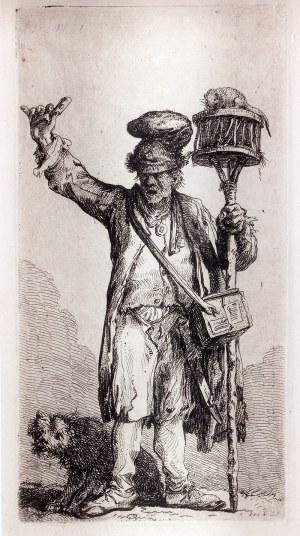 Jan Piotr Norblin de la Gourdaine (1745 Misy- Faut- Yonne – 1830 Paryż) Przekupień trucizny na szczury, 1781 r.