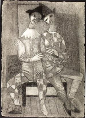 Jean Lambert-Rucki (1888 Kraków – 1967) Pierroci, 1934 r.