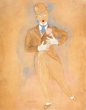 Henryk Berlewi (1894 Warszawa – 1967 Paryż) Projekt kostiumu aktora teatru Variete