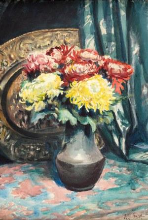 Teodor Grott (1884 Częstochowa – 1972 Kraków) Kwiaty w wazonie