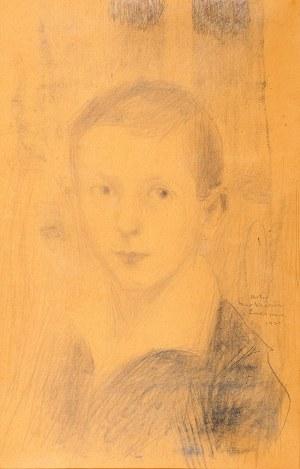 Artur Markowicz (1872 Kraków – 1934 tamże) Portret chłopca, 1920 r.