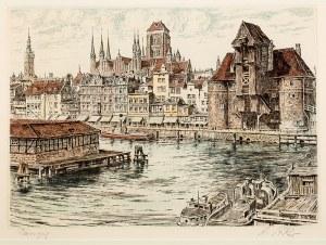 Richard Adler (1907 Berlin – 1977 Düsseldorf) Gdańsk – Nad Motławą