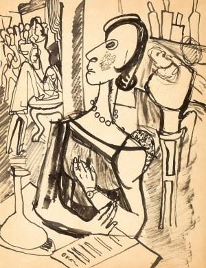 Jonasz Stern (1904 Kałusz – 1988 Zakopane) W restauracji
