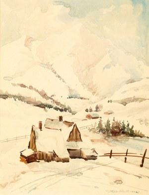 Aleksander Sołtan (1903–1994) Zima w Tatrach, 1952 r.