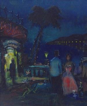 Alfred ABERDAM (1894-1963), Na Lazurowym Wybrzeżu - Nokturn
