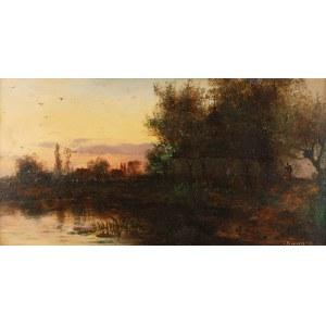 Seweryn BIESZCZAD (1852-1923), Zachód słońca