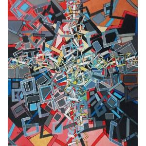Edyta MATEJKOWSKA (ur. 1983), Kompozycja 5, z cyklu: Wejdź w moje konstrukcje, 2018