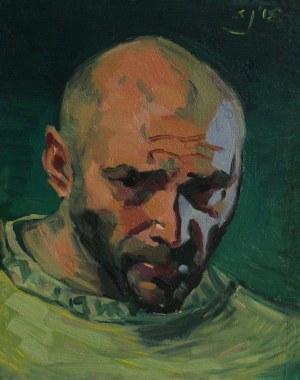 Sławomir J. Siciński, Autoportret w zieleniach (2018)