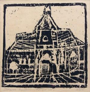 Ryszard Stryjec (1932 Lipniszki k. Lidy-1997 Gdańsk) Kościółek, 1960 r.