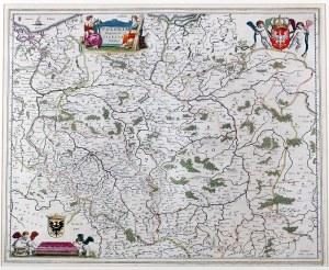 Joan Blaeu (1596-1673) Polonia Regnum, et Silesia Ducatus