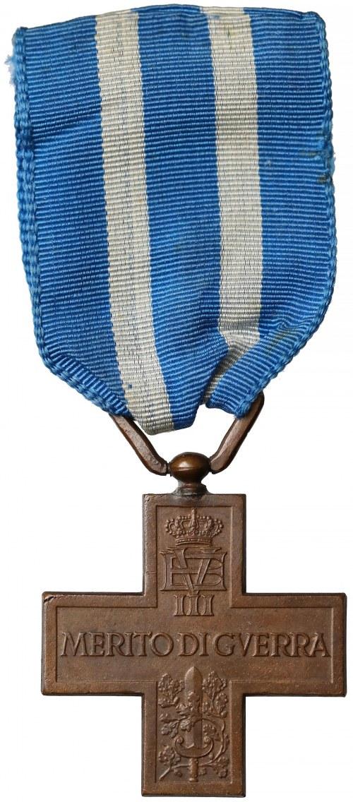 Włochy, Wiktor Emanuel III, Krzyż Zasługi Wojennej