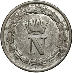 Włochy, Neapol, Napoleon Bonaparte, 10 centesimi 1809-M