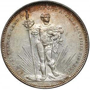 Szwajcaria, 5 franków 1879 - Festiwal strzelecki, Basel