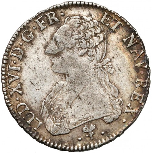 Francja, Ludwik XVI, Écu 1784-L, Bayonne