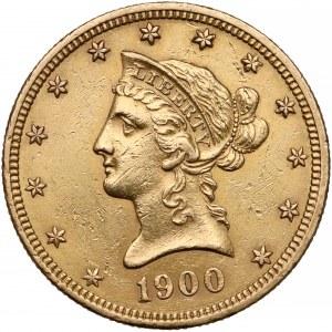 USA, 10 dolarów 1900 - Coronet Head