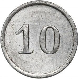 Monogram CF, nominał 10