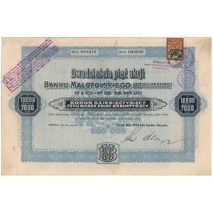 Bank Małopolski, 25x 400 kr 1919