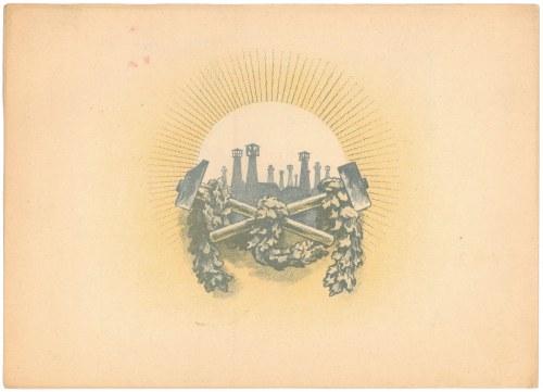 Pokucie Naftowa Spółka, Em.2, 5x 1.000 mk 1922