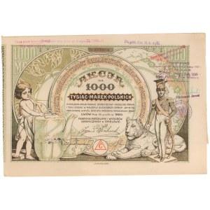 Fabryka Porcelany i Wyrobów Ceramicznych w Ćmielowie, 1.000 mkp 1920