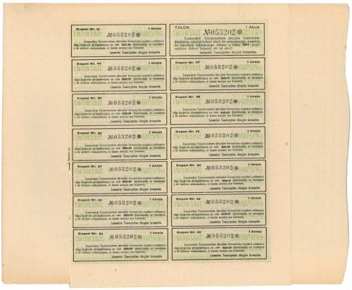 Lwowskie Tow. Akc. Browarów, Em.10, 100 zł 1928