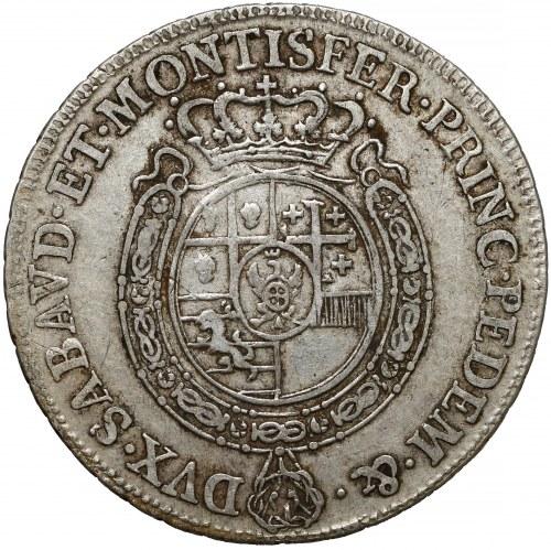Włochy, Księstwo Sabaudii-Piemontu, Karol Emanuel III, 1/2 scudo 1757