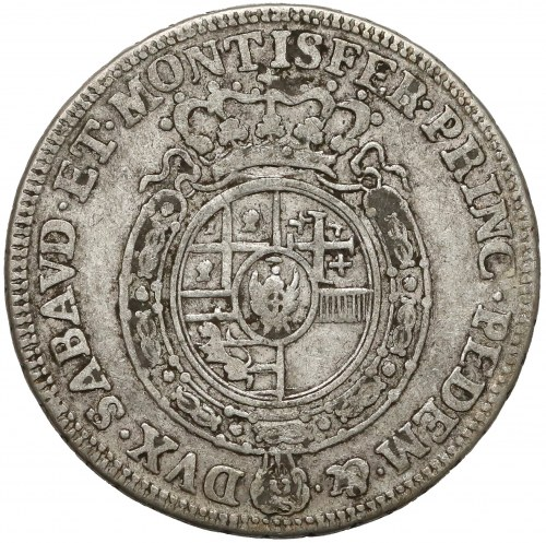 Włochy, Księstwo Sabaudii-Piemontu, Karol Emanuel III, 1/4 scudo 1756