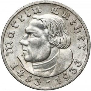Niemcy, III Rzesza, 5 marek 1933-A - Luther