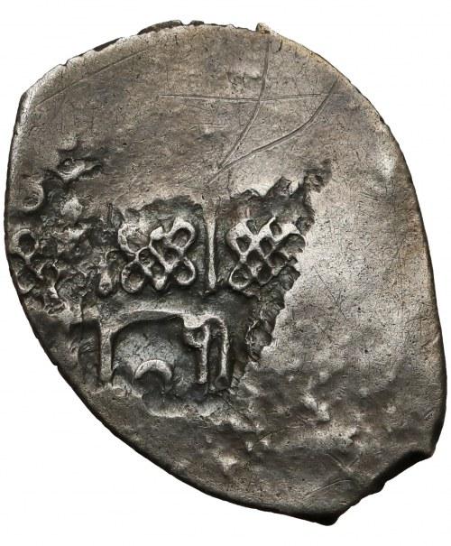 Rosja, Wasyl I Dmitrijewicz (1389-1425), Dienga - napis arabski - rzadkość
