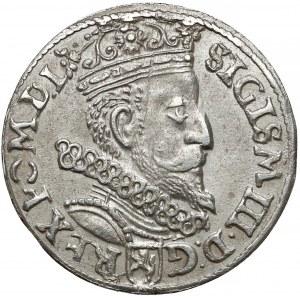 Zygmunt III Waza, Trojak Kraków 1602 - 160Z - b.rzadki