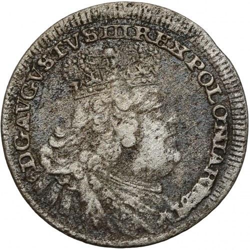 August III Sas, Półtorak Lipsk 1756 EC - PULTORAK