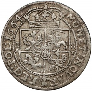 Jan II Kazimierz, Ort Kraków 1664 AT