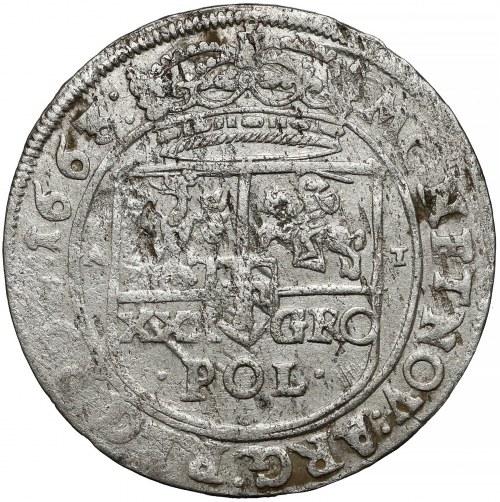 Jan II Kazimierz, Tymf Bydgoszcz 1663 AT - SALVSS - bez przekroju