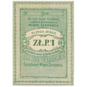 Żarnowiec, Dawid Szalowic, 1 złoty (XIX w.)