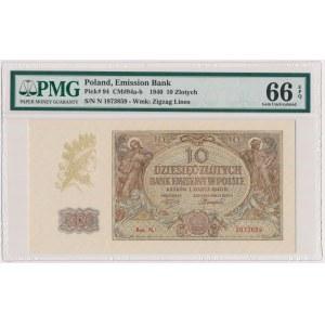 10 złotych 1940 - Ser.N.