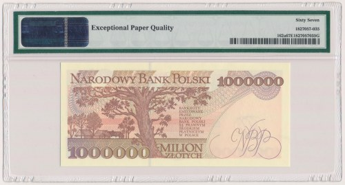 1 mln złotych 1993 - M