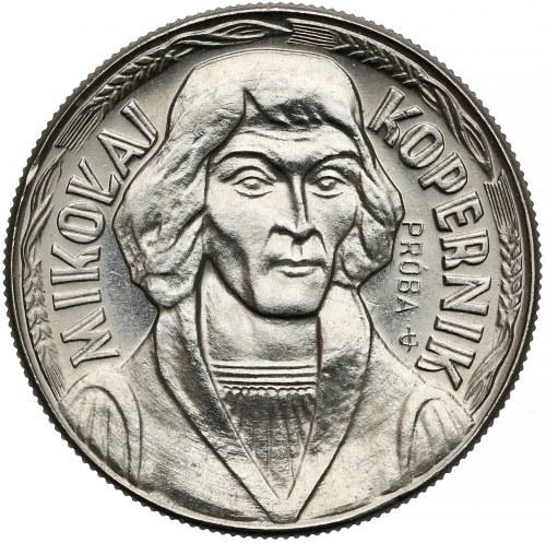 Próba NIKIEL 10 złotych 1967 Kopernik