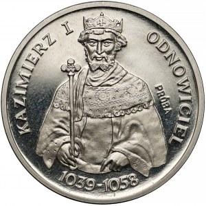 Próba NIKIEL 200 złotych 1980 Kazimierz I Odnowiciel - półpostać